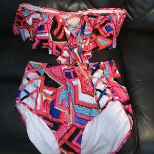 Pink Aztec Bikini